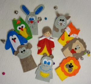 Пальчиковые игрушки (4)