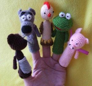 Пальчиковые игрушки (10)