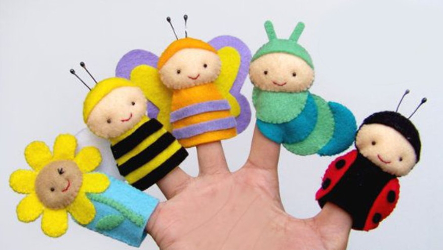 Как сшить пальчиковую куклу