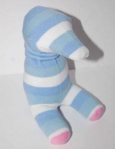 Игрушки из носков. Слоник своими руками (14 )