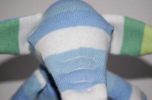 Игрушки из носков. Слоник своими руками ( 16)
