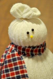 Игрушка на новый год. Снеговик своими руками (9 )
