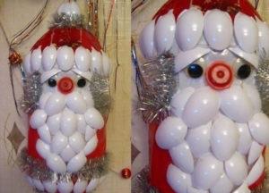 Большие новогодние игрушки на уличную елку (36)