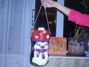 Большие новогодние игрушки на уличную елку (39)