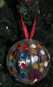 Большие новогодние игрушки на уличную елку (45)