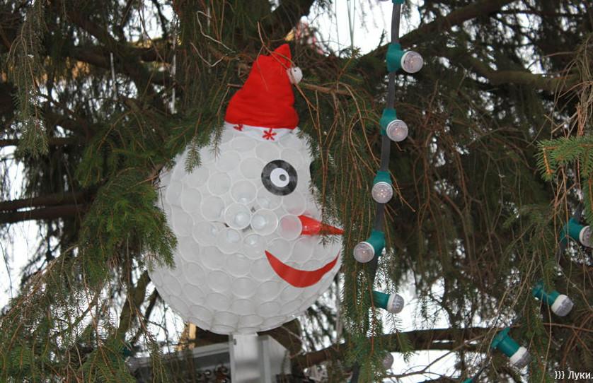 Новогодняя игрушка своими руками для елки на