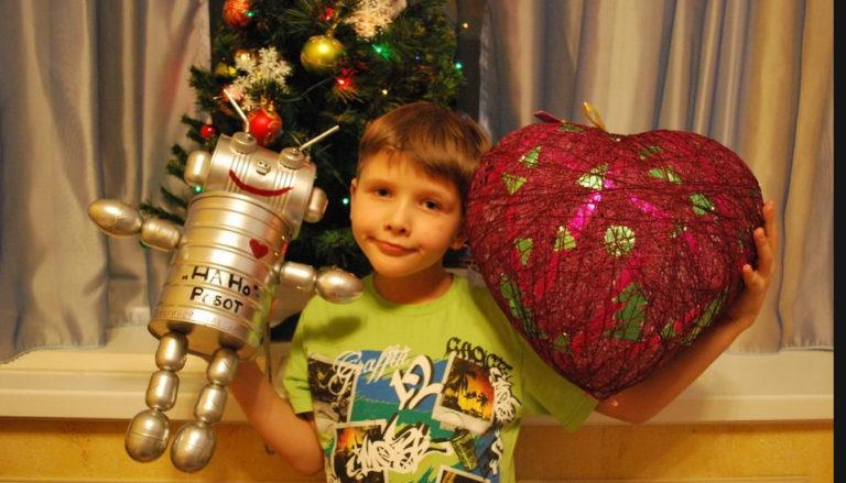 Большая новогодняя игрушка своими руками в школу на конкурс