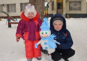 Большие новогодние игрушки на уличную елку (62)