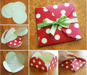 Идеи упаковки подарков. Как красиво подарить игрушку (1)