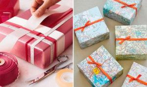 Идеи упаковки подарков. Как красиво подарить игрушку (25)