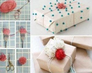 Идеи упаковки подарков. Как красиво подарить игрушку (60)