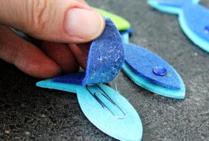 Игрушка для мальчика своими руками. Рыбалка на магнитах (13)