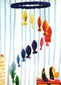 Игрушки для детей от 0 до 1 года .Мобиль для кроватки своими руками. (14)