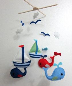 Игрушки для детей от 0 до 1 года .Мобиль для кроватки своими руками. (16)