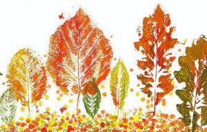 Игрушки для досуга. Картины из осенних листьев (19)