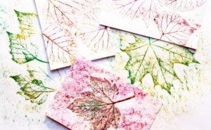 Игрушки для досуга. Картины из осенних листьев (22)