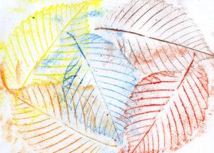 Игрушки для досуга. Картины из осенних листьев (23)