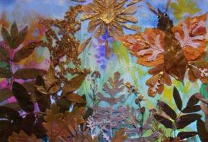 Игрушки для досуга. Картины из осенних листьев (27)