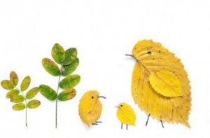 Игрушки для досуга. Картины из осенних листьев (30)