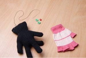 Игрушки из перчаток своими руками. Как сшить котёнка (6)