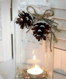 Игрушки на елку своими руками 2016. Что сделать из шишек на Новый год (5)