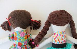 Как сделать куклу для девочки (22)