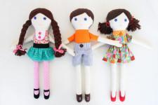 Как сделать куклу для девочки (24)