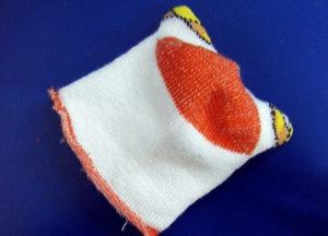 Как сшить игрушку из носка. Совушка своими руками (6)