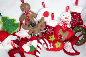 Как сшить новогодние игрушки своими руками. Простые и нужные идеи (17)