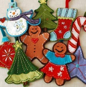 Как сшить новогодние игрушки своими руками. Простые и нужные идеи (55)