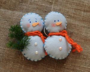Как сшить новогодние игрушки своими руками. Простые и нужные идеи (59)