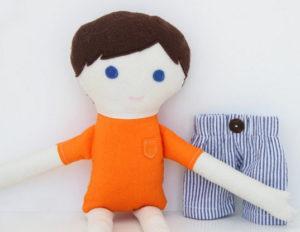 Кукла для мальчика своими руками (2)