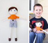 Кукла для мальчика своими руками (3)