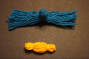 Кукла из ниток своими руками для детей. Игрушки мотанки (14)