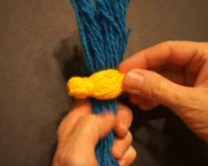 Кукла из ниток своими руками для детей. Игрушки мотанки (15)