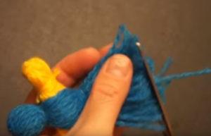 Кукла из ниток своими руками для детей. Игрушки мотанки (18)