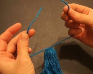 Кукла из ниток своими руками для детей. Игрушки мотанки (47)