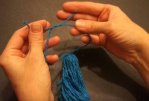 Кукла из ниток своими руками для детей. Игрушки мотанки (50)