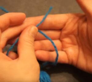 Кукла из ниток своими руками для детей. Игрушки мотанки (55)