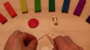 Лепка игрушек из пластилина. Мухомор своими руками (27)