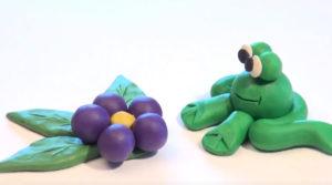 Лепка игрушек из пластилина. Сделать лягушку своими руками (22)