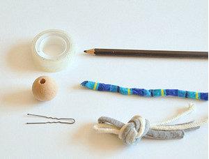 Маленькие куколки для девочек. Плетение из веревки своими руками (1)