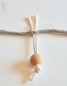 Маленькие куколки для девочек. Плетение из веревки своими руками (10)
