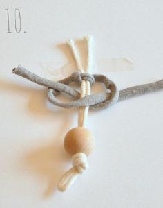 Маленькие куколки для девочек. Плетение из веревки своими руками (11)