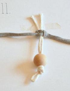 Маленькие куколки для девочек. Плетение из веревки своими руками (12)