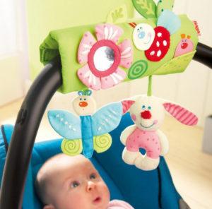 Мобиль для кроватки своими руками. Игрушки для детей от 0 до 1 года (5)
