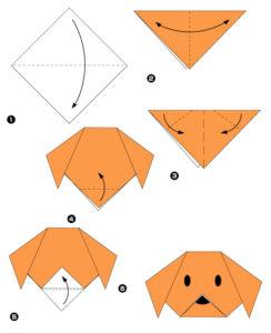 Простые оригами из бумаги для детей (12)