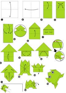 Простые оригами из бумаги для детей (4)