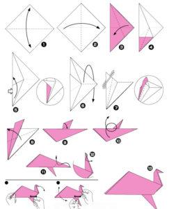 Простые оригами из бумаги для детей (6)
