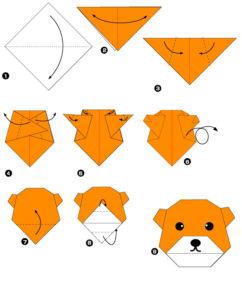 Простые оригами из бумаги для детей (8)